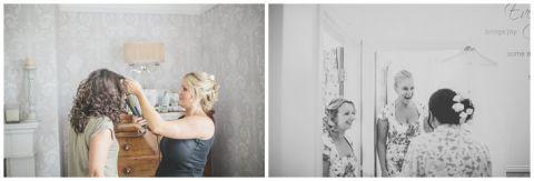 vintage wedding photographer Earsdon Eccles village hall 009(pp w480 h163)