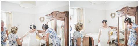 vintage wedding photographer Earsdon Eccles village hall 017(pp w480 h163)