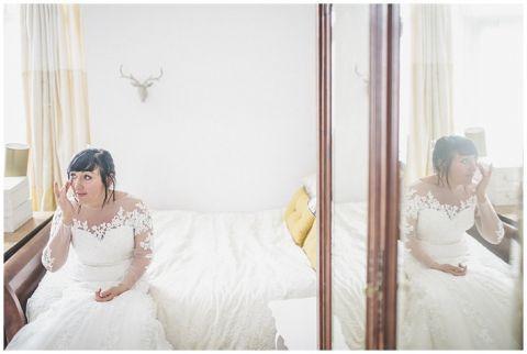 vintage wedding photographer Earsdon Eccles village hall 019(pp w480 h322)
