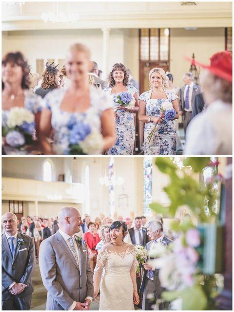 vintage wedding photographer Earsdon Eccles village hall 023(pp w480 h641)
