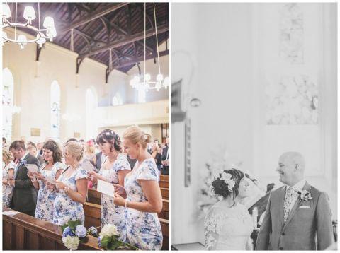 vintage wedding photographer Earsdon Eccles village hall 035(pp w480 h358)