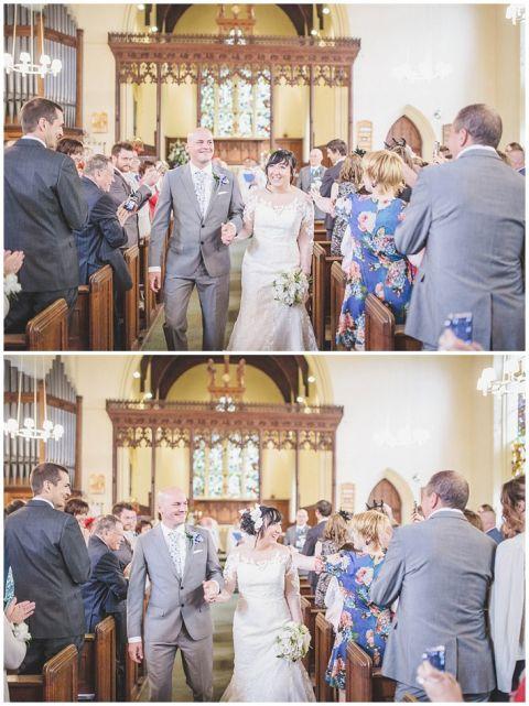 vintage wedding photographer Earsdon Eccles village hall 040(pp w480 h641)