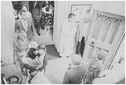 vintage wedding photographer Earsdon Eccles village hall 041(pp w480 h322)
