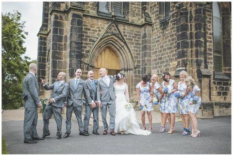 vintage wedding photographer Earsdon Eccles village hall 052(pp w480 h322)