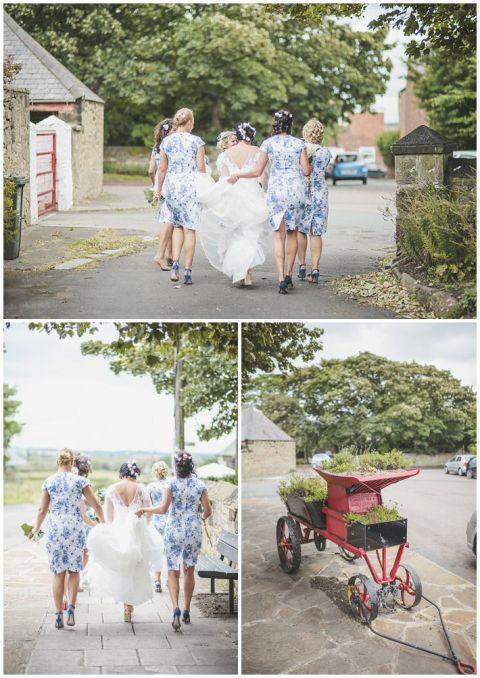 vintage wedding photographer Earsdon Eccles village hall 056(pp w480 h678)