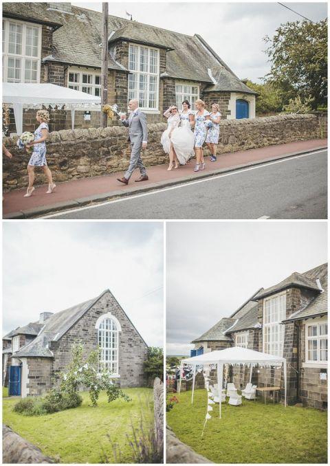 vintage wedding photographer Earsdon Eccles village hall 057(pp w480 h678)