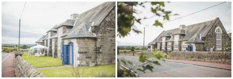 vintage wedding photographer Earsdon Eccles village hall 058(pp w480 h163)