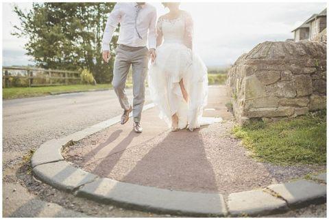 vintage wedding photographer Earsdon Eccles village hall 098(pp w480 h322)