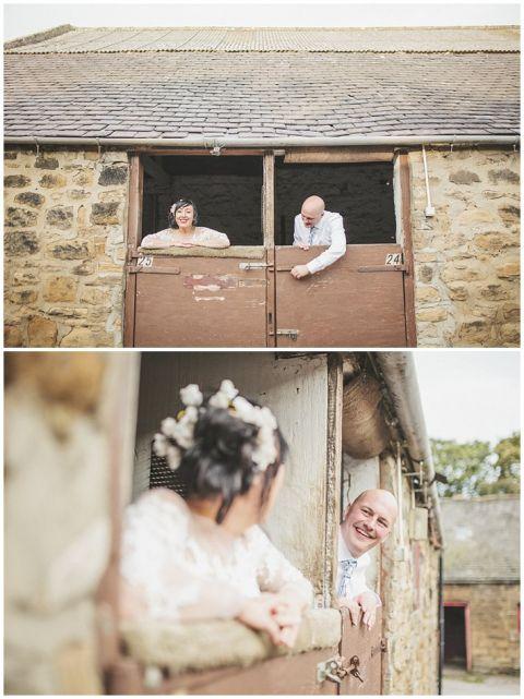 vintage wedding photographer Earsdon Eccles village hall 101(pp w480 h641)