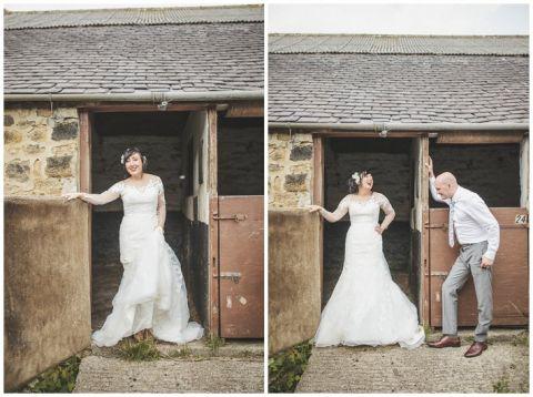 vintage wedding photographer Earsdon Eccles village hall 102(pp w480 h358)