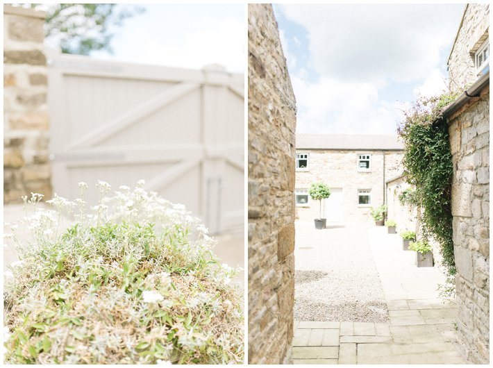 Yorkshire wedding barn - Gilling old mill cottages