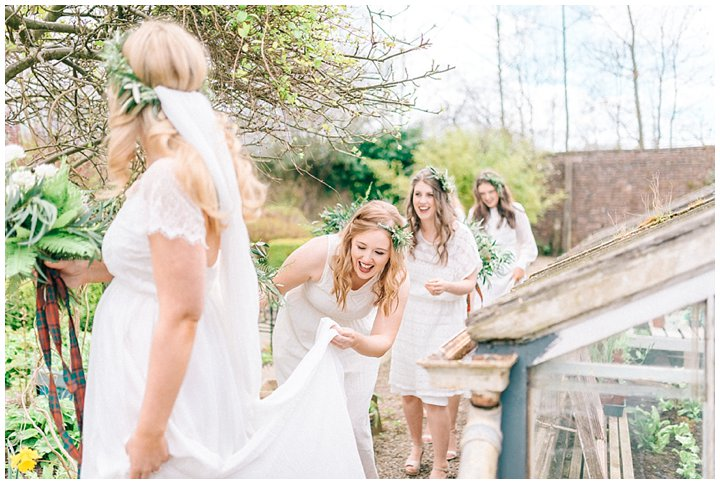 Hexham Winter Gardens Wedding Photographer 0313