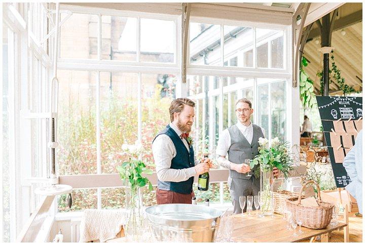 Hexham Winter Gardens Wedding Photographer 0330