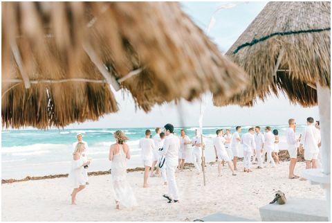 Wedding Elopement Tulum Mexico Viento De Mar Akiin Beach Club 0215(pp w480 h322)