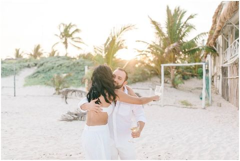 Wedding Elopement Tulum Mexico Viento De Mar Akiin Beach Club 0216(pp w480 h322)