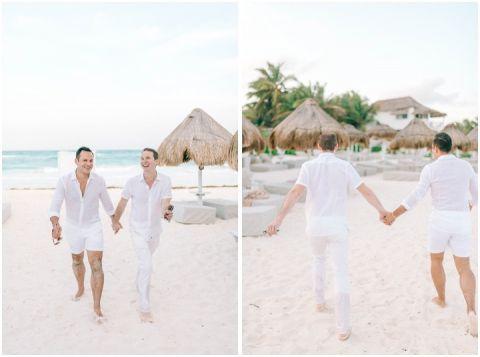 Wedding Elopement Tulum Mexico Viento De Mar Akiin Beach Club 0234(pp w480 h357)