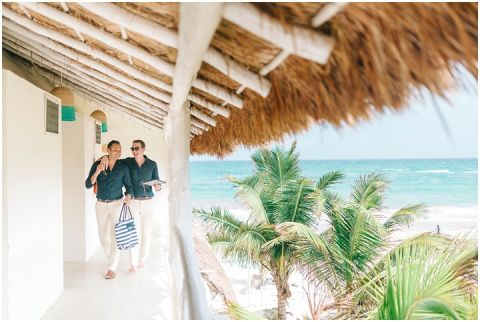 Wedding Elopement Tulum Mexico Viento De Mar Akiin Beach Club 0264(pp w480 h322)