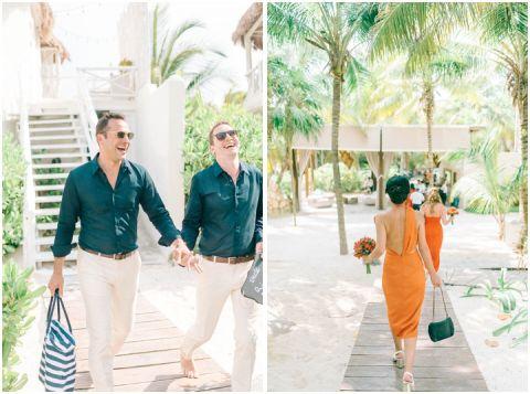 Wedding Elopement Tulum Mexico Viento De Mar Akiin Beach Club 0265(pp w480 h357)