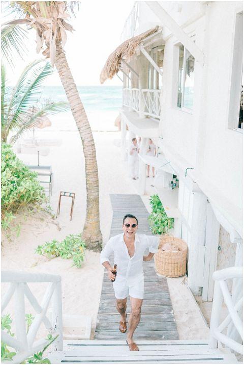 Wedding Elopement Tulum Mexico Viento De Mar Akiin Beach Club 0269(pp w480 h716)