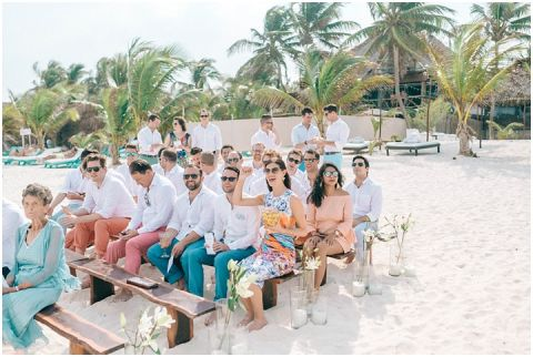Wedding Elopement Tulum Mexico Viento De Mar Akiin Beach Club 0277(pp w480 h322)