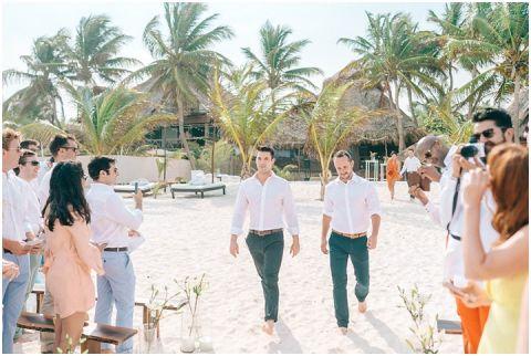 Wedding Elopement Tulum Mexico Viento De Mar Akiin Beach Club 0283(pp w480 h322)