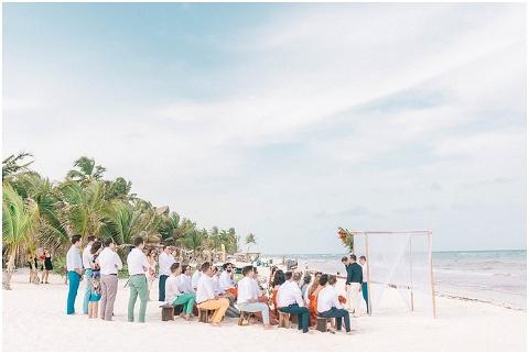 Wedding Elopement Tulum Mexico Viento De Mar Akiin Beach Club 0303(pp w480 h322)