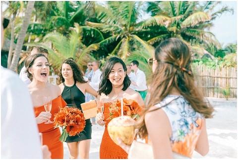 Wedding Elopement Tulum Mexico Viento De Mar Akiin Beach Club 0320(pp w480 h322)