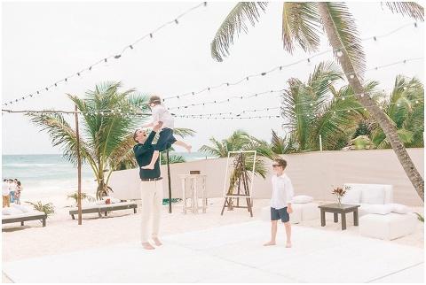 Wedding Elopement Tulum Mexico Viento De Mar Akiin Beach Club 0328(pp w480 h322)