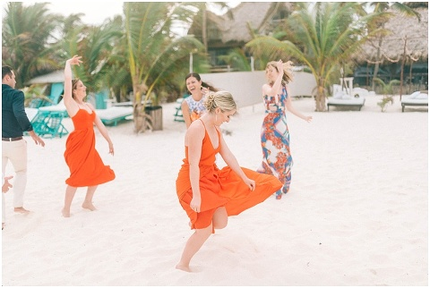 Wedding Elopement Tulum Mexico Viento De Mar Akiin Beach Club 0346(pp w480 h322)
