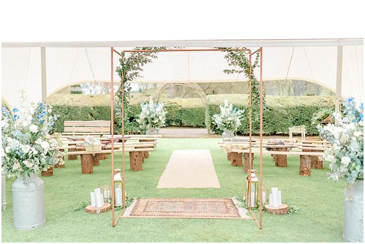 Outdoor Wedding Myres Castle Scotland Wedding 002
