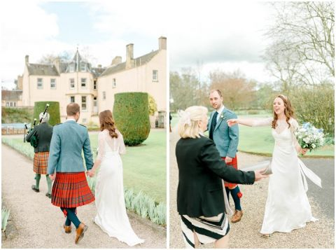 Outdoor Wedding Myres Castle Scotland Wedding 049(pp w480 h357)