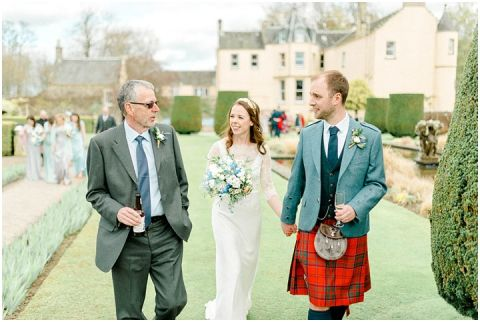 Outdoor Wedding Myres Castle Scotland Wedding 059(pp w480 h322)