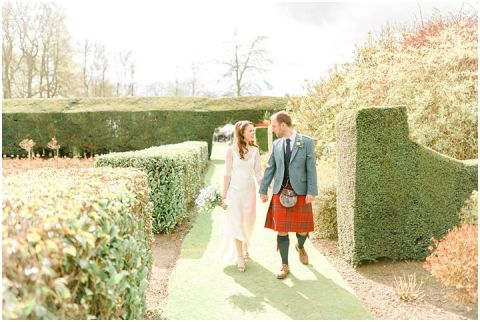 Outdoor Wedding Myres Castle Scotland Wedding 066(pp w480 h322)
