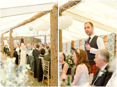 Outdoor Wedding Myres Castle Scotland Wedding 120(pp w480 h357)