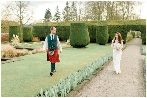 Outdoor Wedding Myres Castle Scotland Wedding 147(pp w480 h322)