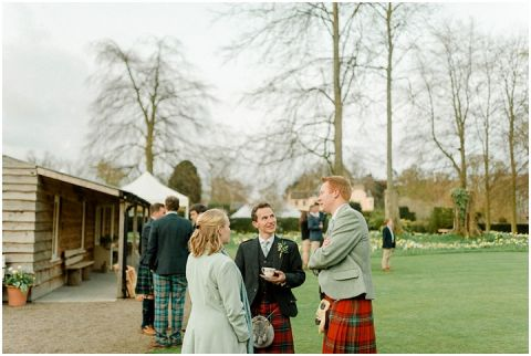 Outdoor Wedding Myres Castle Scotland Wedding 150(pp w480 h322)