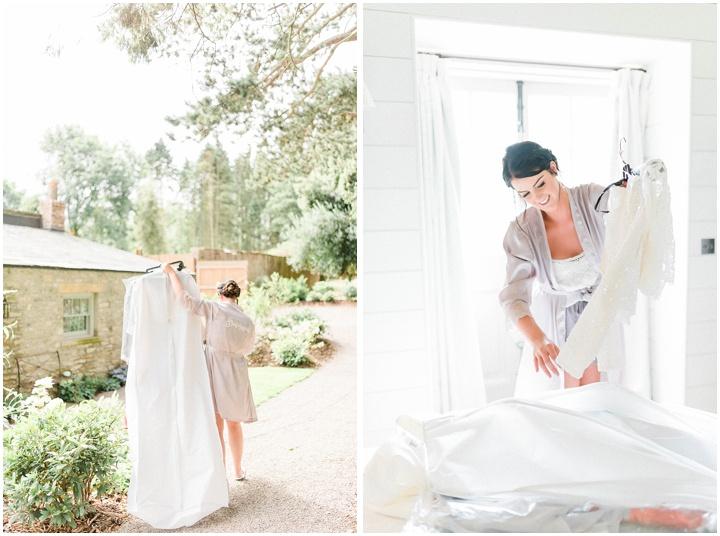 Fig House wedding photographer getting ready