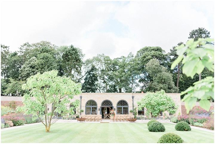 Fig House wedding garden