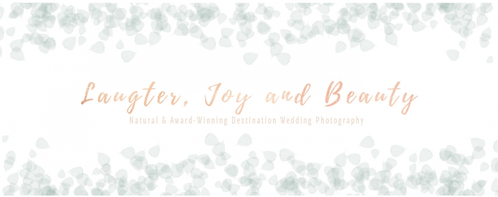bright and natural destination wedding photographer
