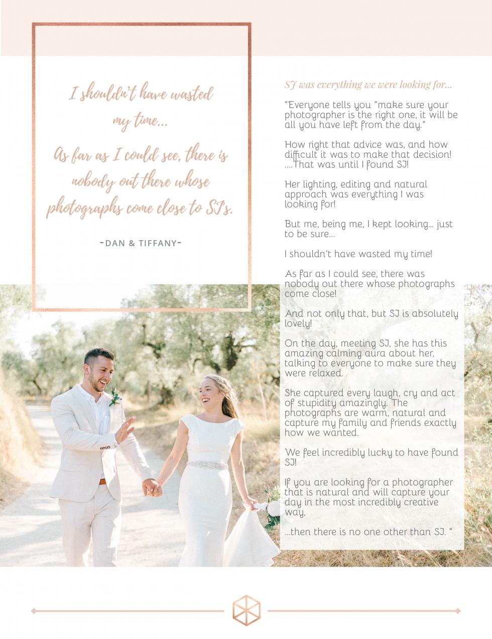 bright and natural destination wedding photographer