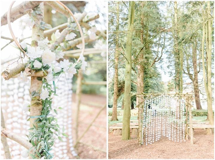 Woodland Wedding – Eshott Hall Woodland Wedding Venue