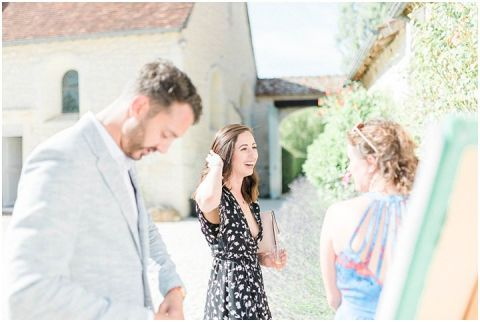 Manoir de la Foulquetiere Loire Valley wedding venue France destination wedding france 061(pp w480 h322)