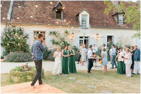 Manoir de la Foulquetiere Loire Valley wedding venue France destination wedding france 115(pp w480 h322)