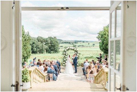 Woodhill Hall wedding outdoor wedding venue Northumberland 030(pp w480 h322)