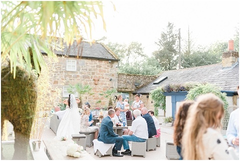 Woodhill Hall wedding outdoor wedding venue Northumberland 116(pp w480 h322)