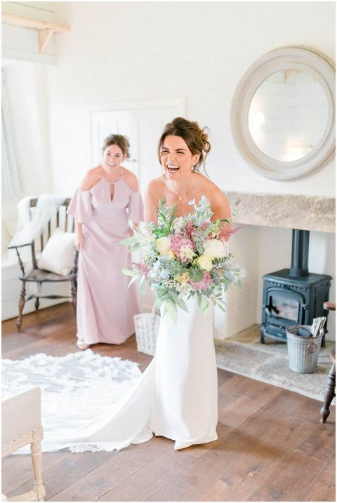Fig House Wedding sequin wedding dress Middleton Bright North Yorkshire Wedding Photographer 029(pp w480 h717)