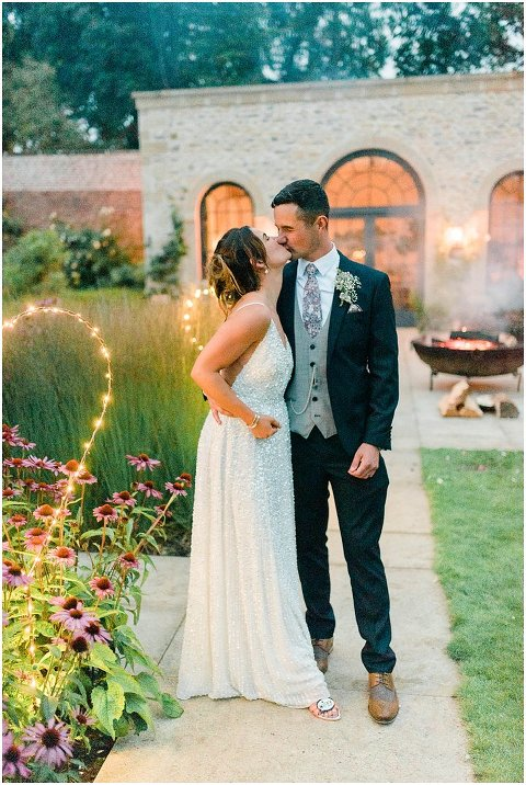 Fig House Wedding sequin wedding dress Middleton Bright North Yorkshire Wedding Photographer 172(pp w480 h716)