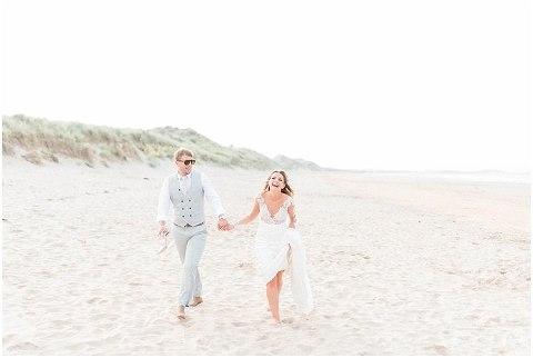 Beach Wedding Newton Hall Wedding(pp w480 h322)