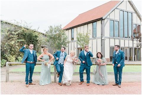 Colourful Flower Wedding Sandburn Hall Wedding 041(pp w480 h322)